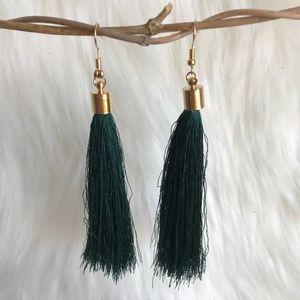 Jewelry - Boho tassel fringe statement earrings